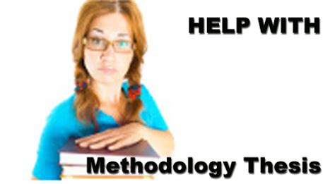 How to write methodology section of a research paper